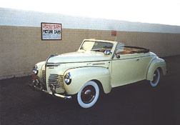 1940 Plymouth Convertible Coupe