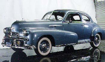 1943 Oldmobile Club Coupe